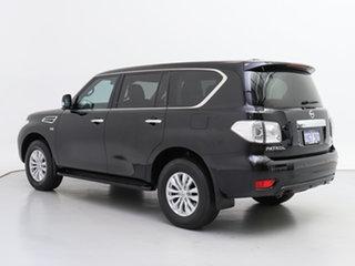 2017 Nissan Patrol Y62 Series 3 Update TI (4x4) Black 7 Speed Automatic Wagon
