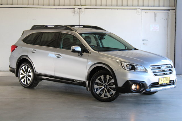 Used Subaru Outback B6A MY17 2.5i CVT AWD Premium Laverton North, 2017 Subaru Outback B6A MY17 2.5i CVT AWD Premium Silver 6 Speed Constant Variable Wagon