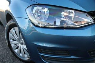 2017 Volkswagen Golf VII MY17 92TSI Blue 6 Speed Manual Hatchback.