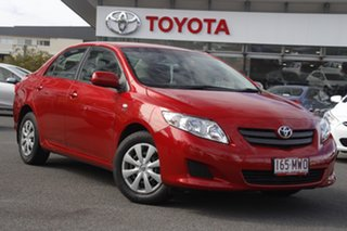 2009 Toyota Corolla ZRE152R Ascent Red 4 Speed Automatic Sedan.