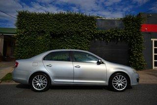 2009 Volkswagen Jetta 1KM MY09 147 TSI Silver 6 Speed Direct Shift Sedan.