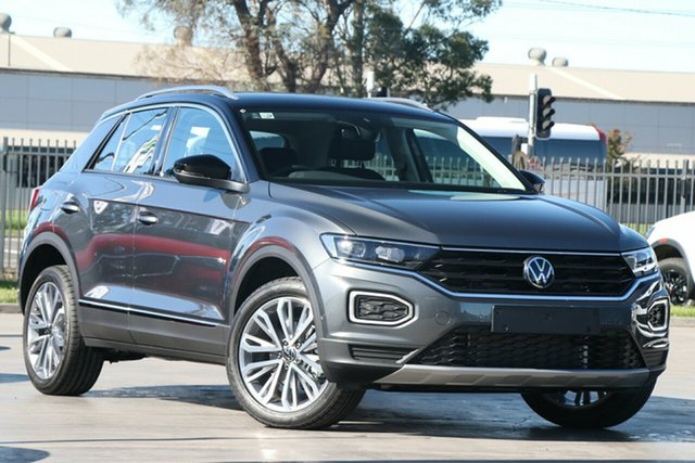 New Volkswagen T-ROC A1 MY21 110TSI Style Port Melbourne, 2021 Volkswagen T-ROC A1 MY21 110TSI Style Grey 8 Speed Sports Automatic Wagon