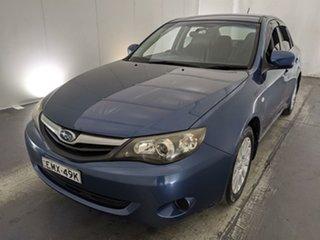 2009 Subaru Impreza G3 MY09 R AWD Blue 4 Speed Sports Automatic Sedan.