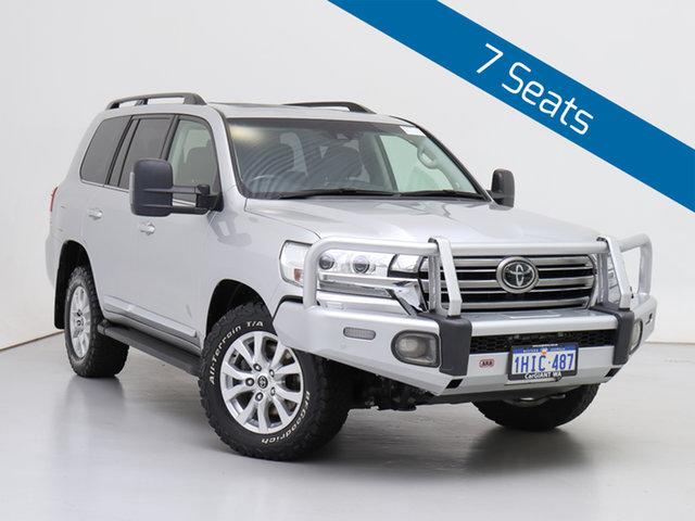 Used Toyota Landcruiser VDJ200R MY16 Sahara (4x4), 2017 Toyota Landcruiser VDJ200R MY16 Sahara (4x4) Silver 6 Speed Automatic Wagon