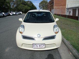 2009 Nissan Micra K12 Beige 4 Speed Automatic Hatchback.