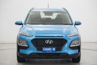 2019 Hyundai Kona OS.2 MY19 Go 2WD Blue Lagoon 6 Speed Sports Automatic Wagon.