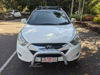 2012 Hyundai ix35 LM MY12 Highlander AWD White 6 Speed Sports Automatic Wagon.