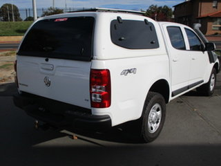 2016 Holden Colorado RG MY16 LS White 6 Speed Automatic Dual Cab