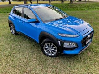 2020 Hyundai Kona Go 2WD Blue Lagoon 6 Speed Sports Automatic Wagon.