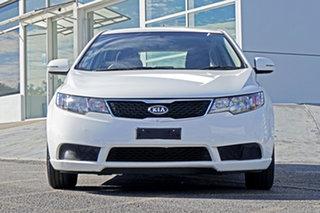 2012 Kia Cerato TD MY12 SI White 6 Speed Sports Automatic Hatchback.