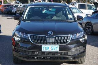 2020 Skoda Karoq NU MY20.5 110TSI FWD Magic Black 8 Speed Automatic Wagon.