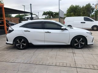 2018 Honda Civic 10th Gen MY18 RS White 1 Speed Constant Variable Hatchback