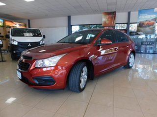 2016 Holden Cruze JH Series II MY16 Equipe Orange 6 Speed Sports Automatic Hatchback.