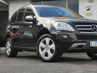 2008 Mercedes-Benz M-Class W164 MY08 ML350 Black/Grey 7 Speed Sports Automatic Wagon.