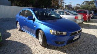 2008 Mitsubishi Lancer CJ MY08 VR Blue 5 Speed Manual Sedan.