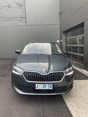 2020 Skoda Fabia NJ MY21 81TSI DSG Grey 7 Speed Sports Automatic Dual Clutch Hatchback