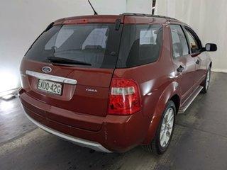 2005 Ford Territory SX Ghia Maroon 4 Speed Sports Automatic Wagon