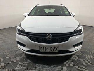 2017 Holden Astra BK MY18 LS+ Sportwagon White 6 Speed Sports Automatic Wagon.