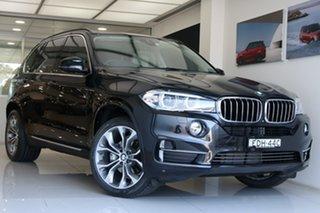2015 BMW X5 F15 xDrive30d Metallic Black 8 Speed Sports Automatic Wagon.