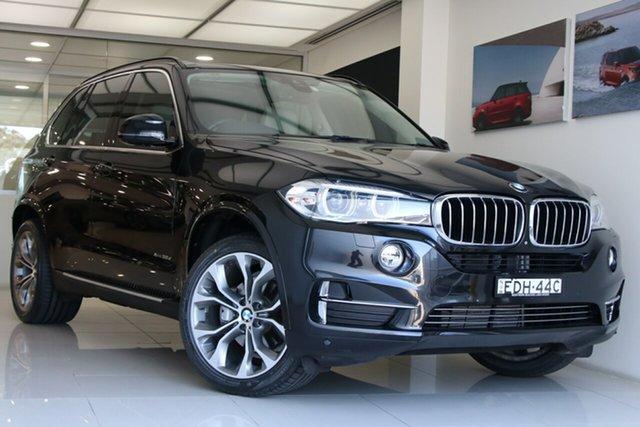 Used BMW X5 F15 xDrive30d Brookvale, 2015 BMW X5 F15 xDrive30d Metallic Black 8 Speed Sports Automatic Wagon
