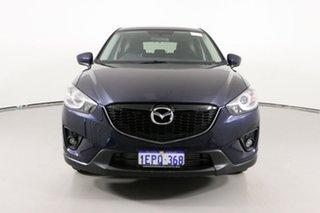 2014 Mazda CX-5 MY13 Upgrade Maxx Sport (4x4) Blue 6 Speed Automatic Wagon.