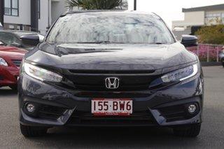 2016 Honda Civic 10th Gen MY16 RS Cosmic Blue 1 Speed Constant Variable Sedan