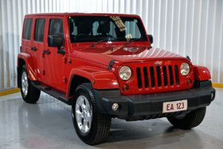 2013 Jeep Wrangler JK MY2013 Unlimited Overland Red 5 Speed Automatic Hardtop