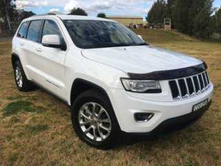 2013 Jeep Grand Cherokee WK Laredo White Sports Automatic.