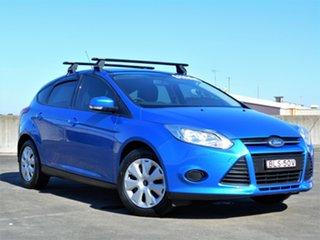 2014 Ford Focus LW MkII MY14 Ambiente Blue 5 Speed Manual Hatchback.