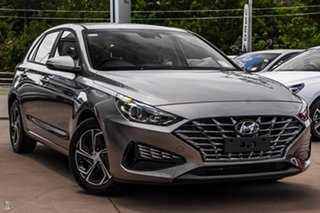 2021 Hyundai i30 PD.V4 MY21 Silver 6 Speed Manual Hatchback.