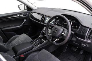 2020 Skoda Kodiaq NS MY21 132TSI DSG White 7 Speed Sports Automatic Dual Clutch Wagon