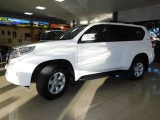 2016 Toyota Landcruiser Prado GDJ150R GXL White 6 Speed Sports Automatic Wagon.