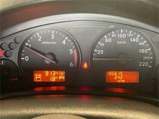 2010 Nissan Navara D40 ST-X (4x4) Blue 5 Speed 5 SP AUTOMATIC Dual Cab Pick-up