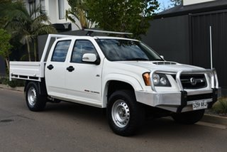2010 Holden Colorado RC MY11 LX Crew Cab White 5 Speed Manual Cab Chassis