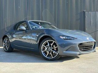 2021 Mazda MX-5 ND GT RF SKYACTIV-MT Polymetal Grey 6 Speed Manual Targa.