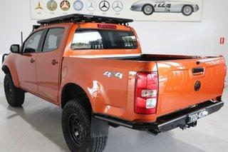 2015 Holden Colorado RG MY16 LTZ Crew Cab Orange 6 Speed Manual Utility.