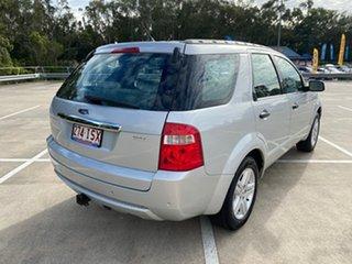 2005 Ford Territory SX Ghia (RWD) Silver 4 Speed Auto Seq Sportshift Wagon.