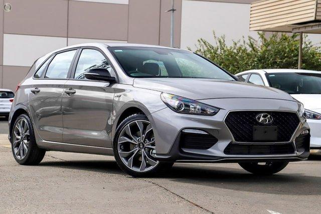 New Hyundai i30 PD.V4 MY21 N Line D-CT Premium Oakleigh, 2021 Hyundai i30 PD.V4 MY21 N Line D-CT Premium Silver 7 Speed Sports Automatic Dual Clutch