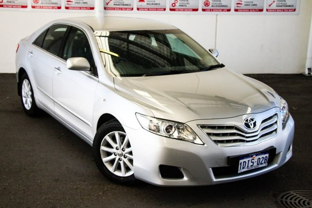 Pre-Owned Toyota Camry ACV40R 09 Upgrade Altise Myaree, 2010 Toyota Camry ACV40R 09 Upgrade Altise Silver Ash 5 Speed Automatic Sedan