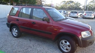 2001 Honda CR-V Classic 4WD Red 4 Speed Automatic Wagon