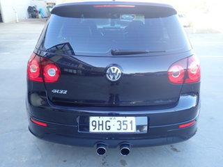 2009 Volkswagen Golf 1K MY09 R32 Black Metallic 6 Speed Direct Shift Hatchback
