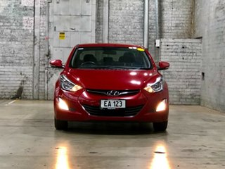 2014 Hyundai Elantra MD3 Active Red 6 Speed Sports Automatic Sedan.
