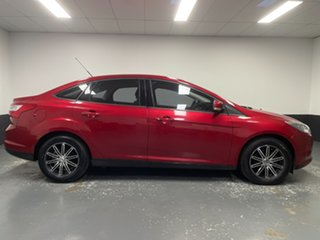 2012 Ford Focus LW Ambiente PwrShift Candy Red 6 Speed Sports Automatic Dual Clutch Sedan