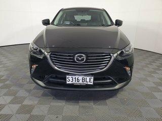 2016 Mazda CX-3 DK4W7A sTouring SKYACTIV-Drive i-ACTIV AWD Jet Black 6 Speed Sports Automatic Wagon.