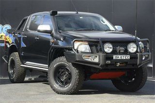 2014 Ford Ranger PX XLS Double Cab Black 6 Speed Manual Utility.