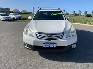 2011 Subaru Outback MY11 2.5I Premium AWD White Continuous Variable Wagon.