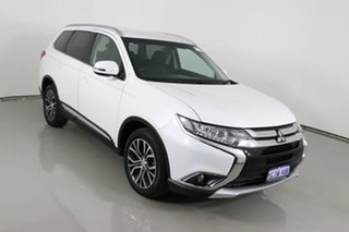 2017 Mitsubishi Outlander ZL MY18.5 LS 7 Seat (2WD) White Continuous Variable Wagon