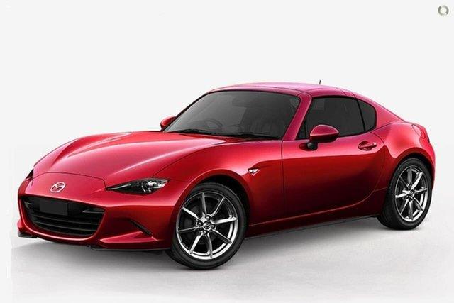New Mazda MX-5 ND GT RF SKYACTIV-MT Waitara, 2021 Mazda MX-5 ND GT RF SKYACTIV-MT Red 6 Speed Manual Targa