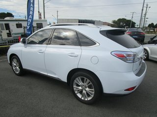 2009 Lexus RX GYL15R RX450h Sports Luxury White 1 Speed Constant Variable Wagon Hybrid.