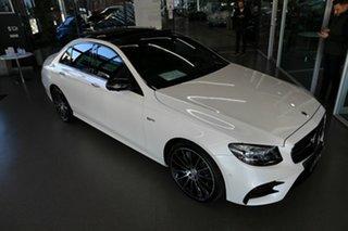 2017 Mercedes-Benz E-Class W213 E43 AMG 9G-Tronic PLUS 4MATIC White 9 Speed Sports Automatic Sedan